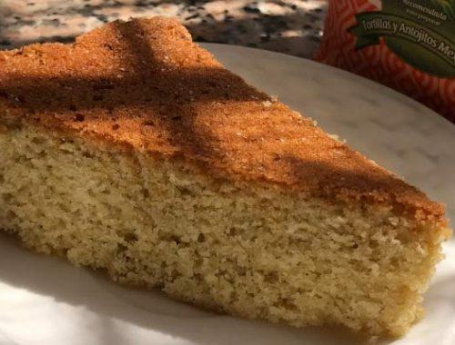 torta de maíz receta libre de gluten