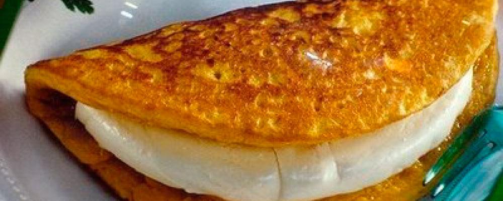 plato venezolano cachapa