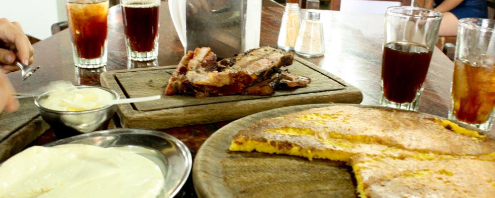 cachapa con queso guayanés