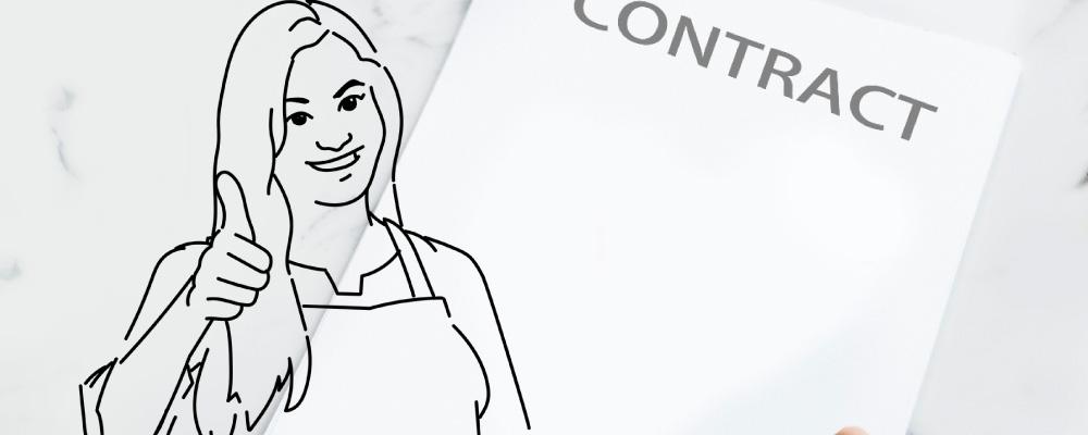 contracto cocinero healthy food